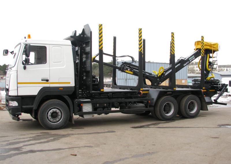 Новый грузовой сортиментовоз МАЗ-МАН 632559